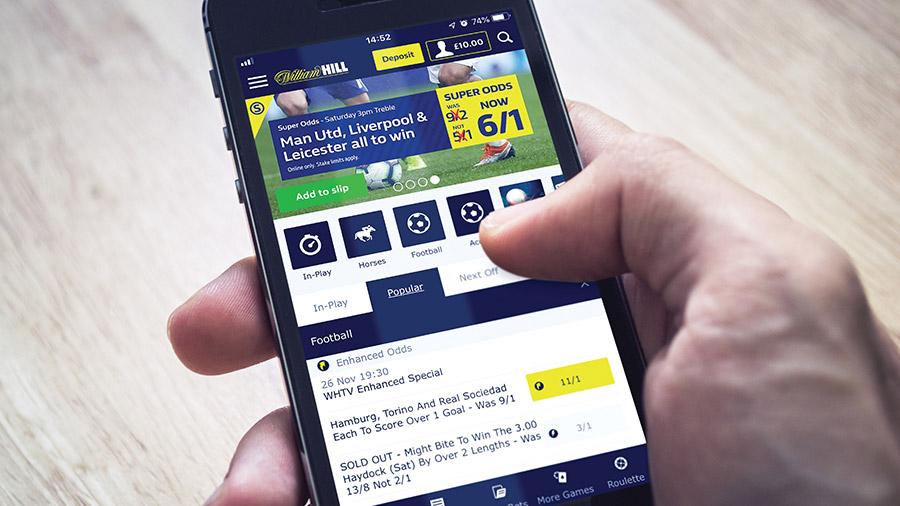 William Hill apk mobile pour Android et iOS